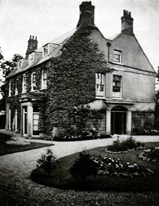 The Vicarage about 1900 [Z50/5/9]